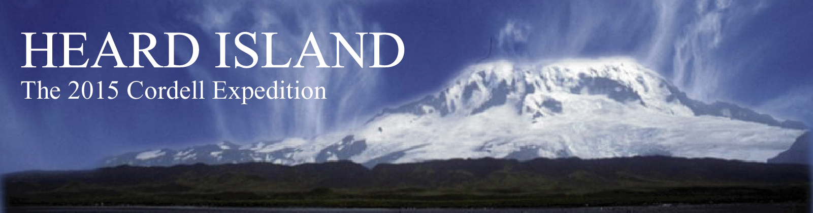 Return to Heard Island HOME PAGE